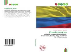 Bookcover of Ecuadorian Army