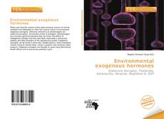 Bookcover of Environmental exogenous hormones