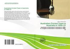 Australian Cricket Team in Australia in 1950–51的封面