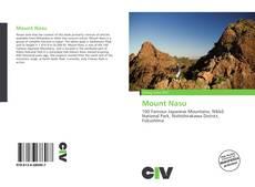 Mount Nasu的封面