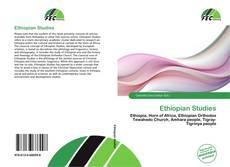 Bookcover of Ethiopian Studies