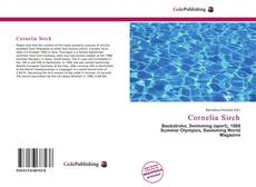 Couverture de Cornelia Sirch