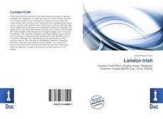 Bookcover of London Irish