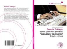 Bookcover of Donnée Publique