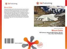 Mount Sobo的封面
