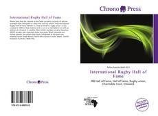 Capa do livro de International Rugby Hall of Fame