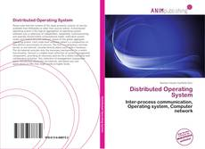 Buchcover von Distributed Operating System