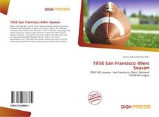 Bookcover of 1958 San Francisco 49ers Season