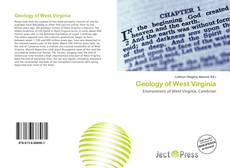 Bookcover of Geology of West Virginia