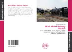 Capa do livro de Mont Albert Railway Station