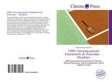 2008 Internazionali Femminili di Palermo – Doubles的封面