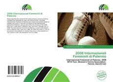 2008 Internazionali Femminili di Palermo的封面