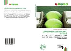 Bookcover of 2008 Internazionali BNL d'Italia