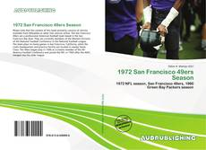Bookcover of 1972 San Francisco 49ers Season