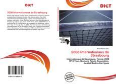 2008 Internationaux de Strasbourg的封面