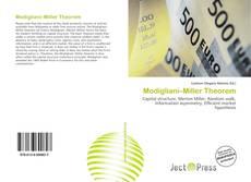 Modigliani–Miller Theorem kitap kapağı