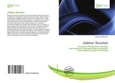 Bookcover of Jabbar Savalan