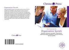 Bookcover of Organisation Sociale