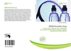 Portada del libro de 2008 Kremlin Cup