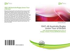 Обложка 1947–48 Australia Rugby Union Tour of Britain