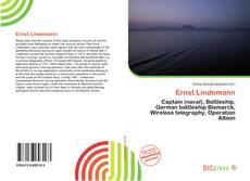 Buchcover von Ernst Lindemann