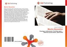 Capa do livro de Martin Niemöller