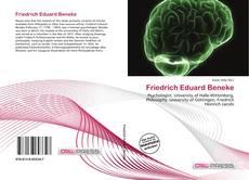 Bookcover of Friedrich Eduard Beneke