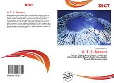 Capa do livro de A. T. S. Sissons