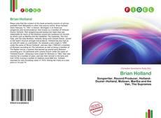 Buchcover von Brian Holland