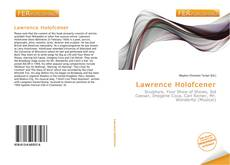 Bookcover of Lawrence Holofcener