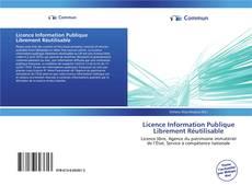 Buchcover von Licence Information Publique Librement Réutilisable