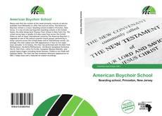 Обложка American Boychoir School