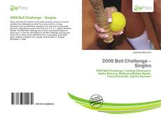 Copertina di 2008 Bell Challenge – Singles