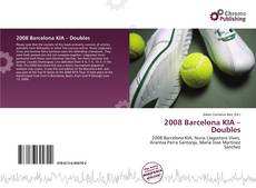 Bookcover of 2008 Barcelona KIA – Doubles