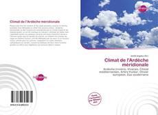 Climat de l'Ardèche méridionale的封面