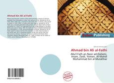 Bookcover of Ahmad bin Ali al-Fathi