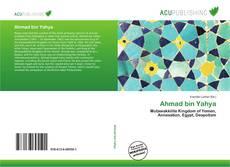 Portada del libro de Ahmad bin Yahya