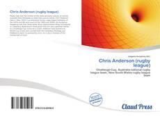 Capa do livro de Chris Anderson (rugby league)
