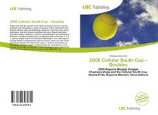 2008 Cellular South Cup – Doubles kitap kapağı