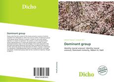 Bookcover of Dominant group