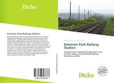 Обложка Emerson Park Railway Station