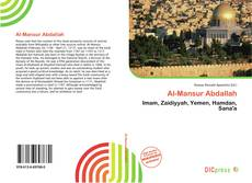 Bookcover of Al-Mansur Abdallah