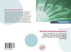 Обложка Bernhard Siegfried Albinus