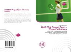 Portada del libro de 2008 ECM Prague Open – Women's Doubles