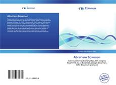 Bookcover of Abraham Bowman