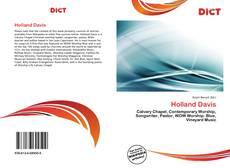 Capa do livro de Holland Davis