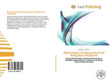 Buchcover von Étymologies de Bergoïata et de Berg dans l'Ardèche