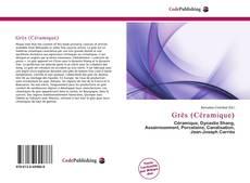 Grès (Céramique) kitap kapağı