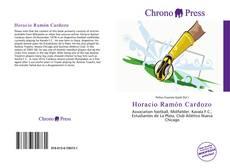Capa do livro de Horacio Ramón Cardozo