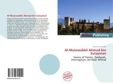 Bookcover of Al-Mutawakkil Ahmad bin Sulayman